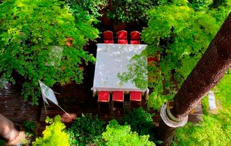 Jardín Restaurante Los Cedros
